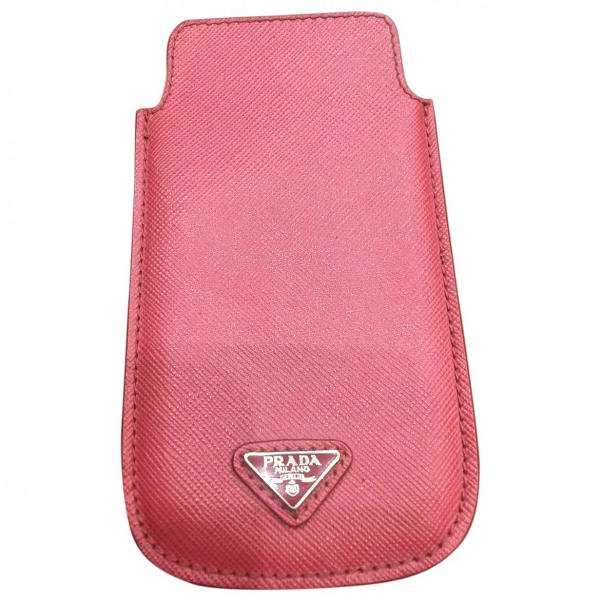 Prada - Accessoires   pour lifestyle en cuir - rose
