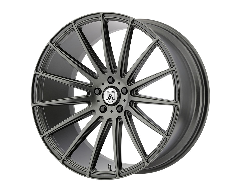 Asanti ABL14-22050025MG Black ABL-14 Polaris Wheel 22x10.5 Blank +0mm Matte Graphite