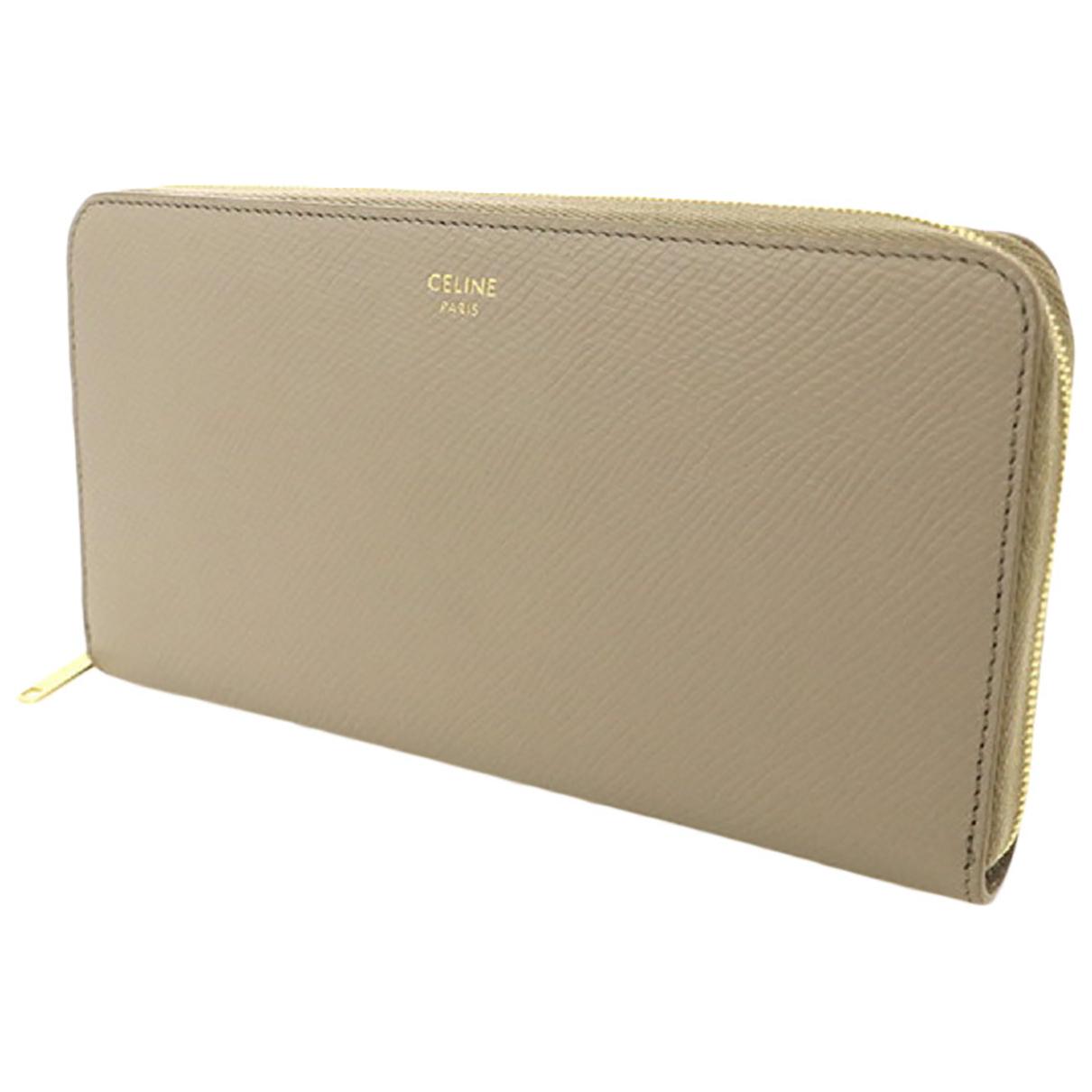 Celine N Leather wallet for Women N