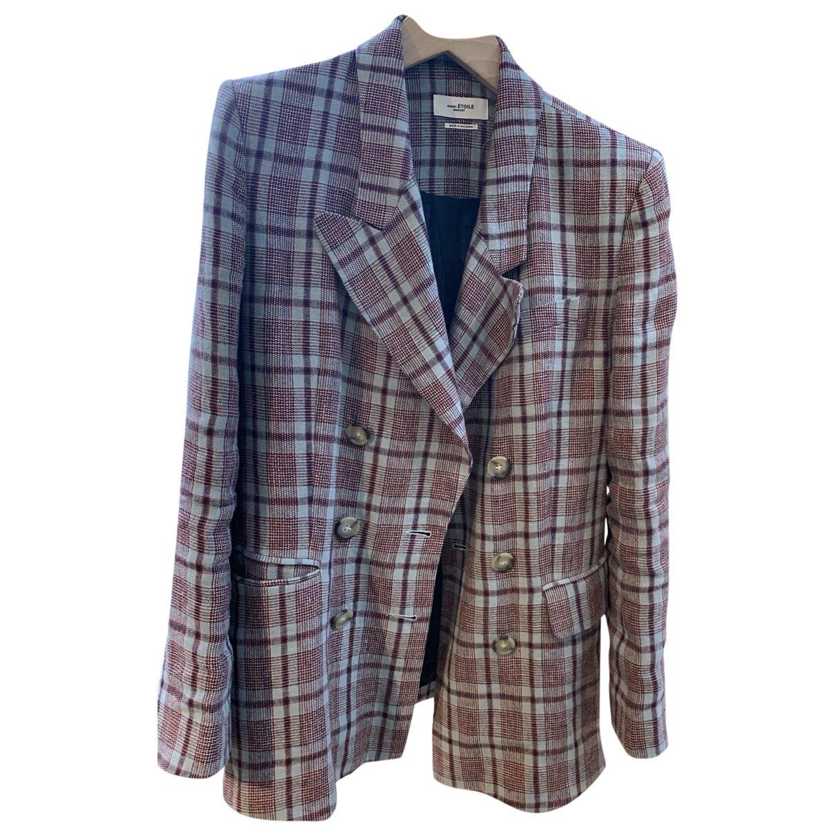 Isabel Marant Etoile \N Multicolour Linen jacket for Women 38 FR