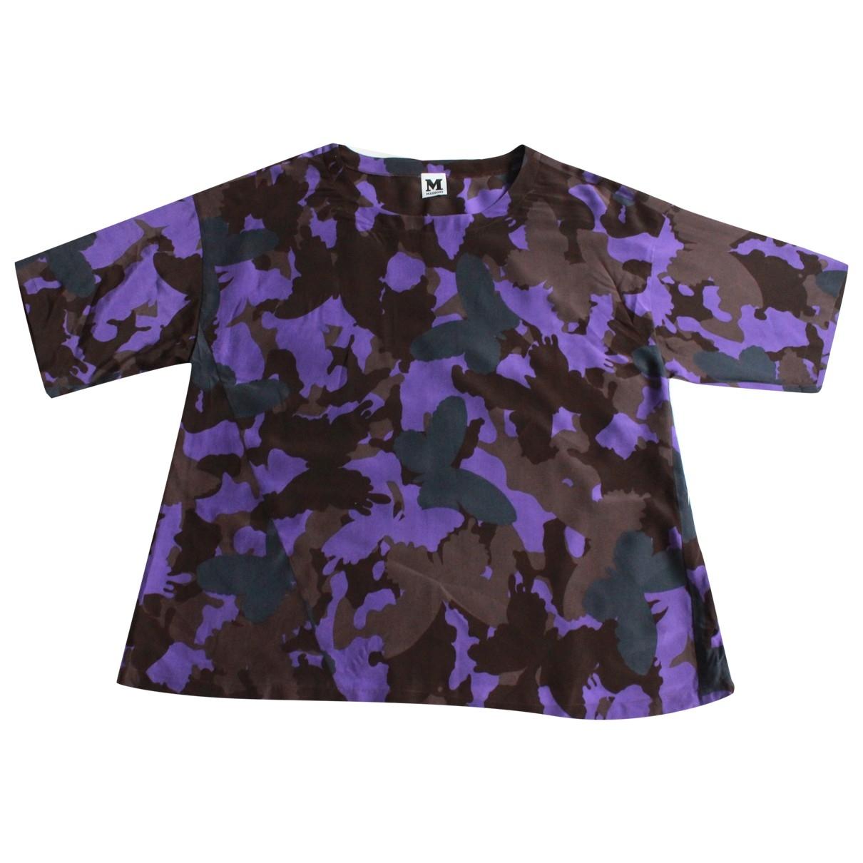 M Missoni \N Purple Silk  top for Women 14 UK