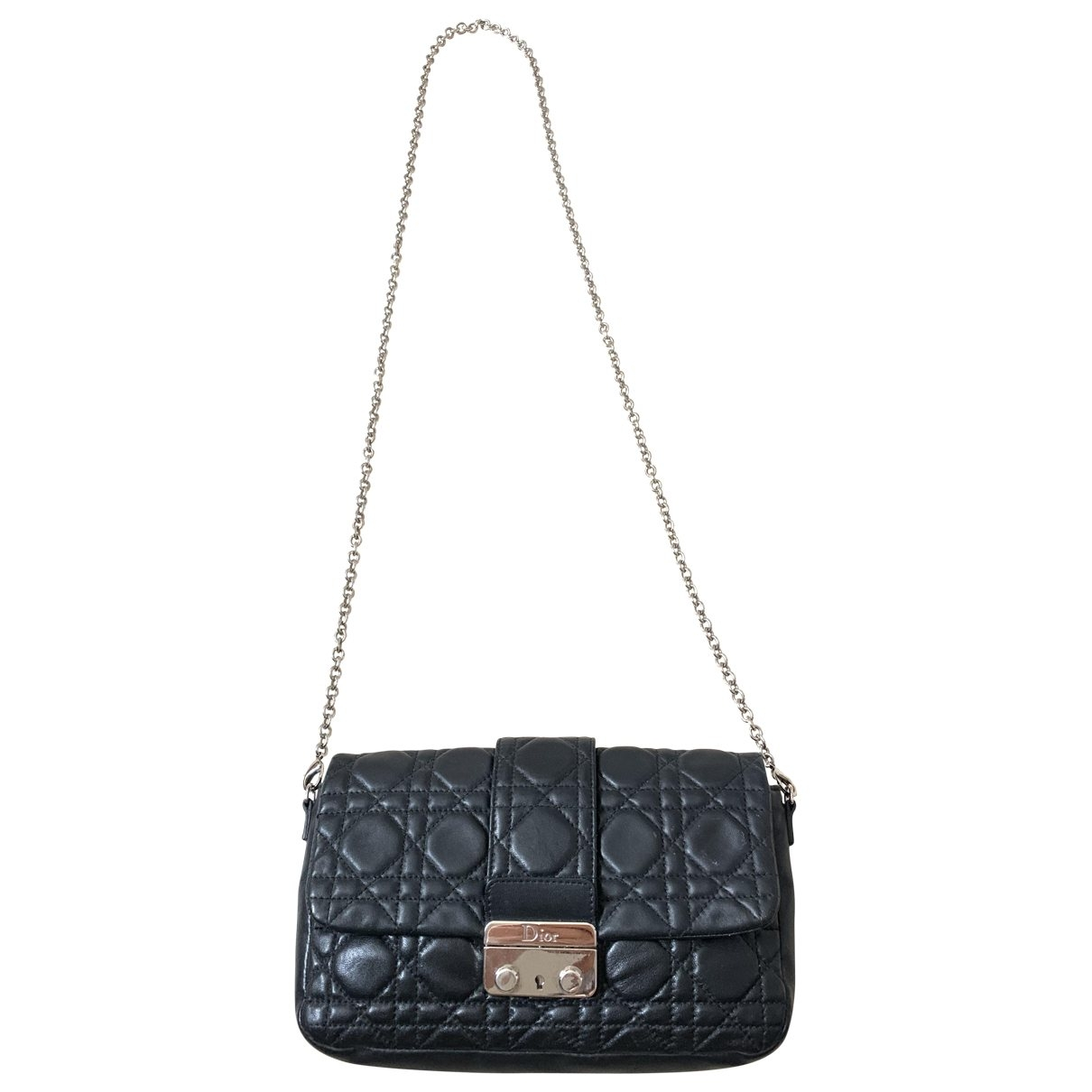 Dior Miss Dior Black Leather Clutch bag for Women \N
