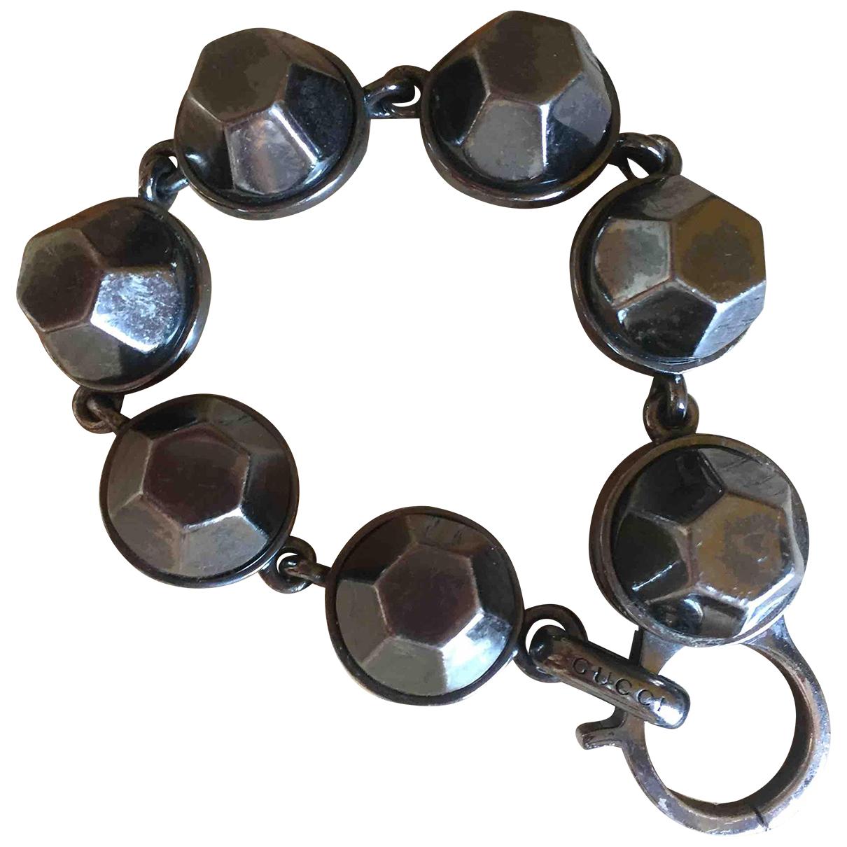 Gucci \N Anthracite Steel bracelet for Women \N