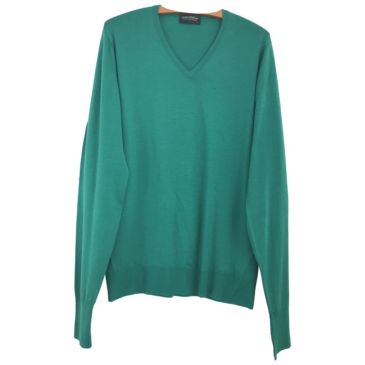 John Smedley \N Green Wool Knitwear & Sweatshirts for Men L International