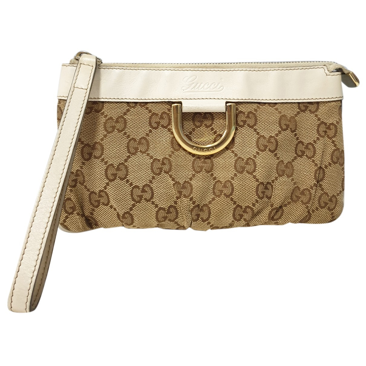 Gucci \N Clutch in Leinen