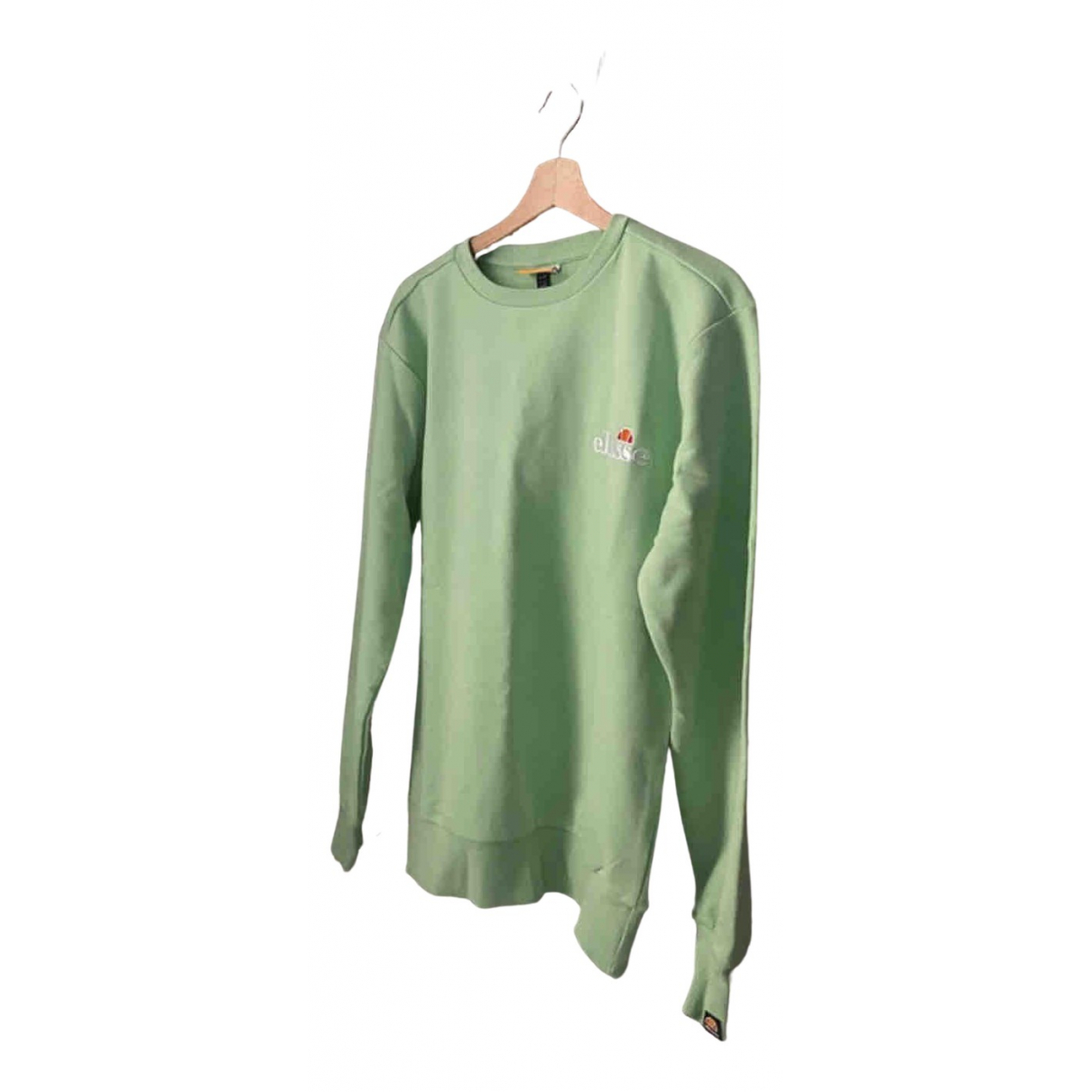 Ellesse \N Pullover.Westen.Sweatshirts  in  Gruen Baumwolle