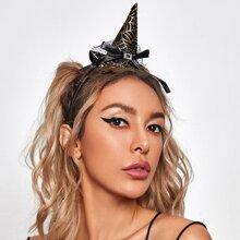 Haarreif mit Halloween Hut Dekor