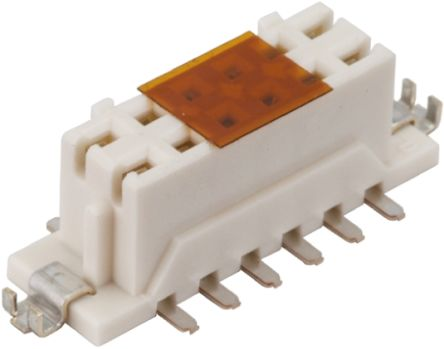 Hirose , DF11 2mm Pitch 14 Way 2 Row Straight PCB Socket, Surface Mount, Solder Termination (5)