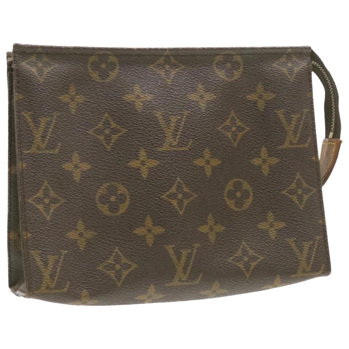 Louis Vuitton - Sac de voyage Trousse de Toilette  pour femme en toile - marron