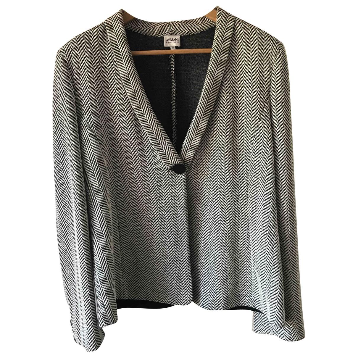 Armani Collezioni \N White jacket for Women 48 IT