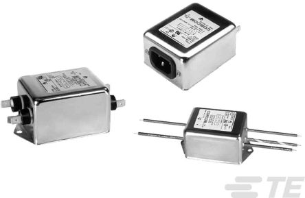 TE Connectivity , Corcom SK 30A 250 V ac 50/60Hz, Flange Mount Power Line Filter, Threaded Bolt, Single Phase (4)