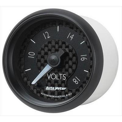 Auto Meter GT Series Electric Voltmeter Gauge - 8091
