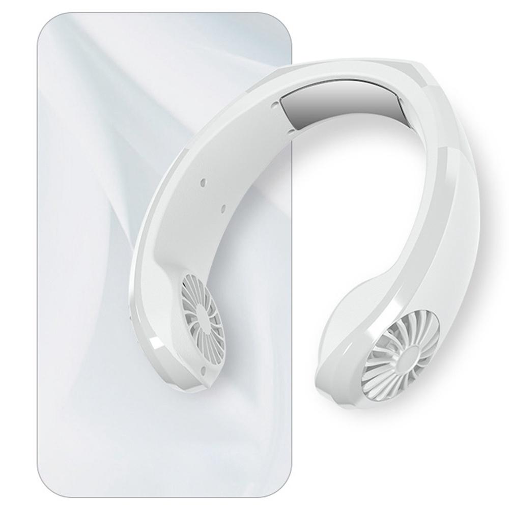 NEXFAN Portable Neck Hanging Fan White