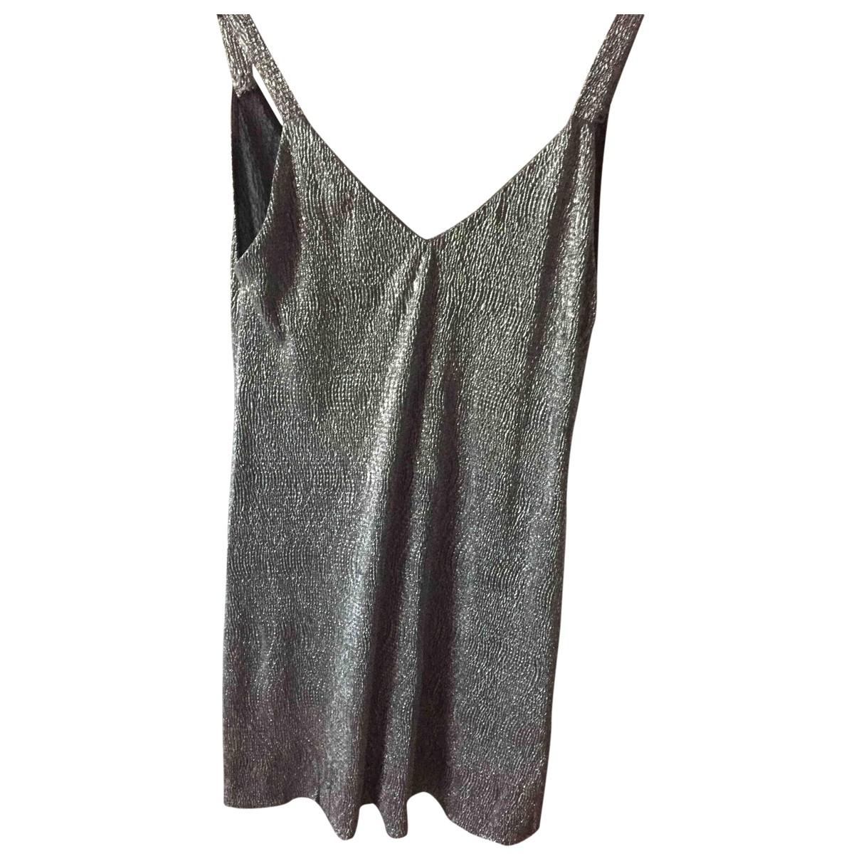 Mango \N Silver dress for Women 36 FR
