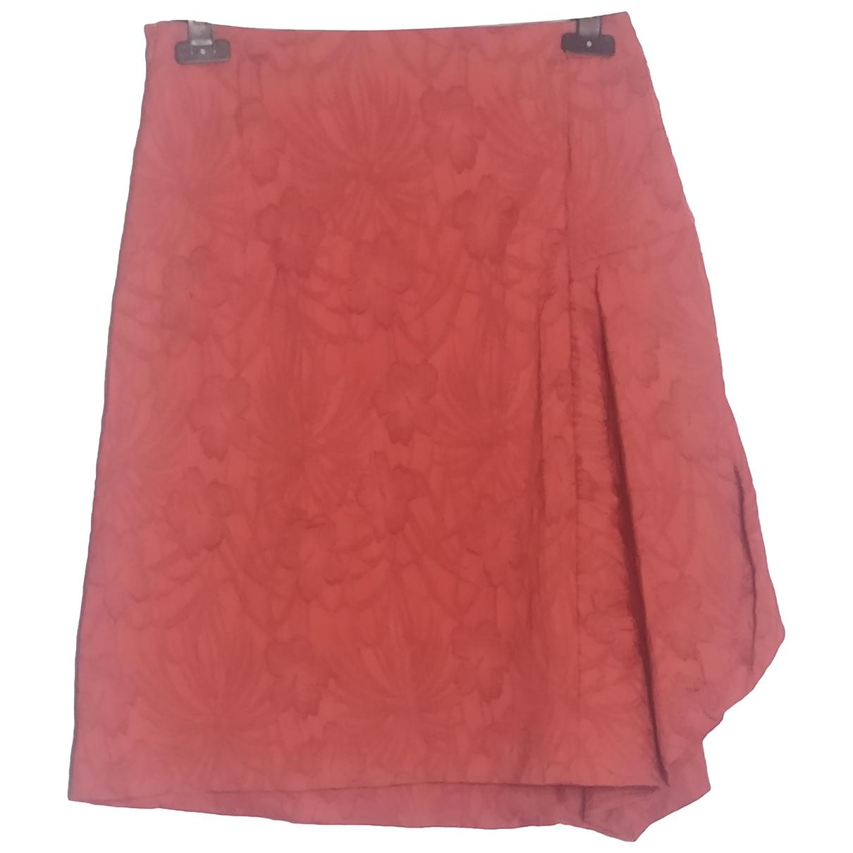 Marni N Orange Silk skirt for Women 42 IT