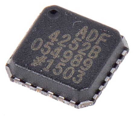 Analog Devices ADF4252BCPZ, Dual Frequency Synthesizer, 24-Pin CP 24
