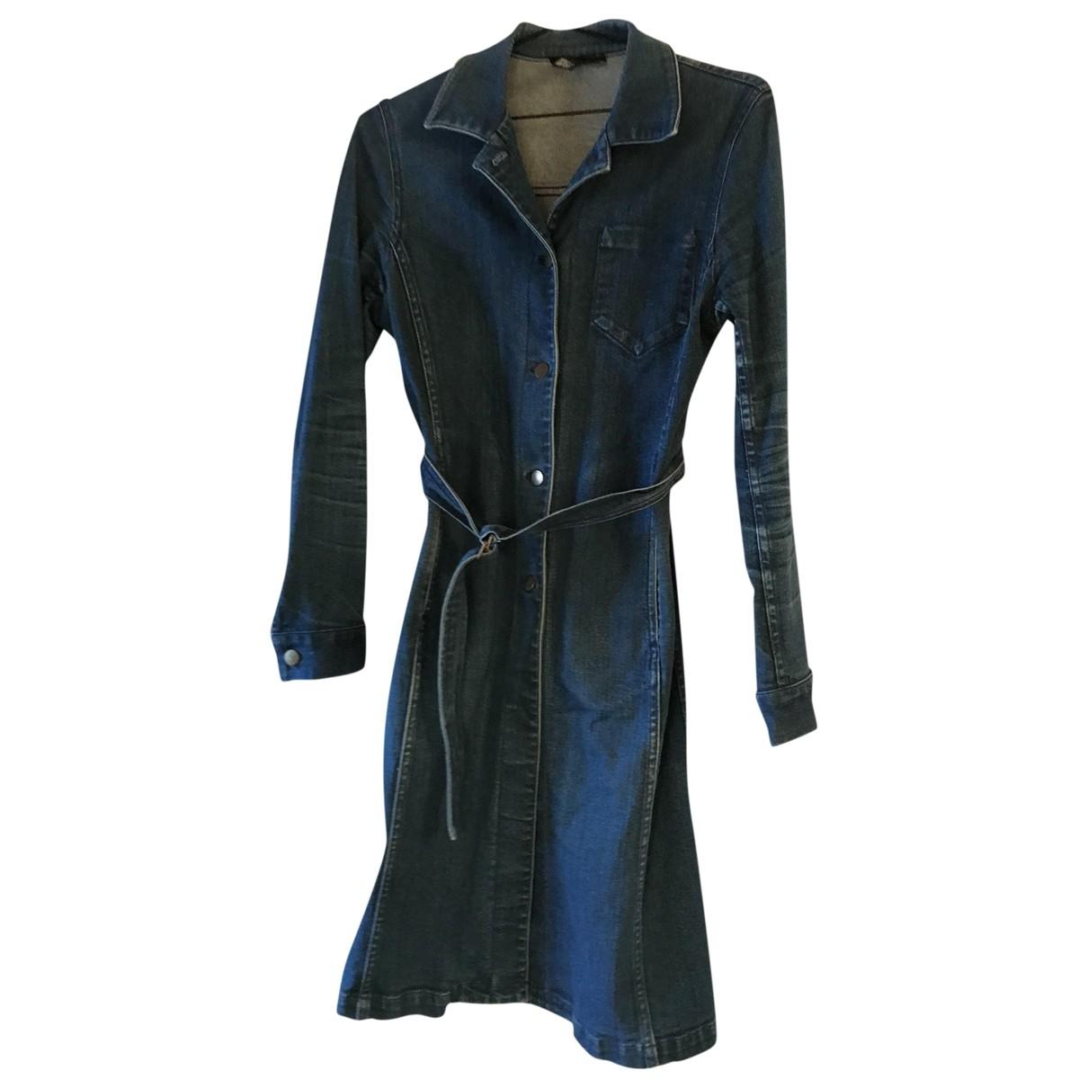 Dkny \N Blue Denim - Jeans dress for Women 8 UK