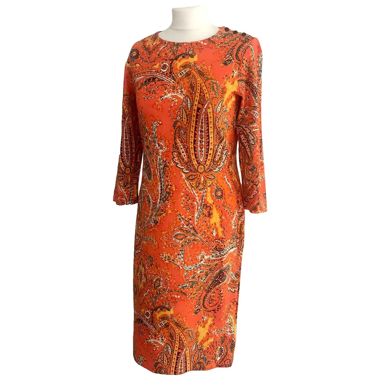 Lauren Ralph Lauren - Robe   pour femme - orange