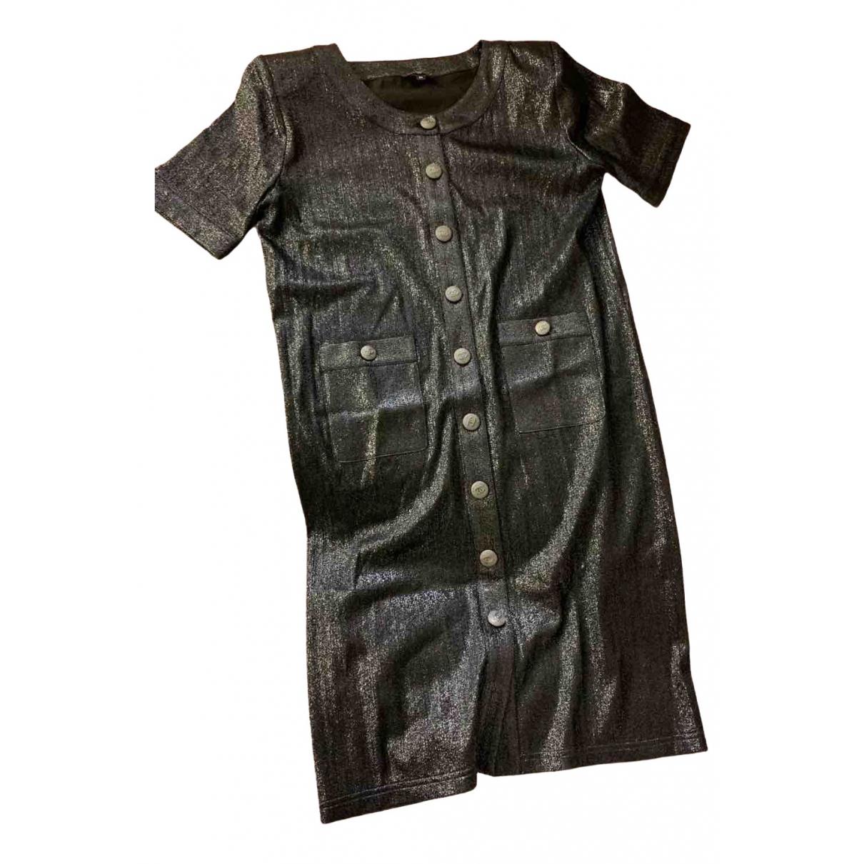 Chanel - Robe   pour femme en a paillettes - noir