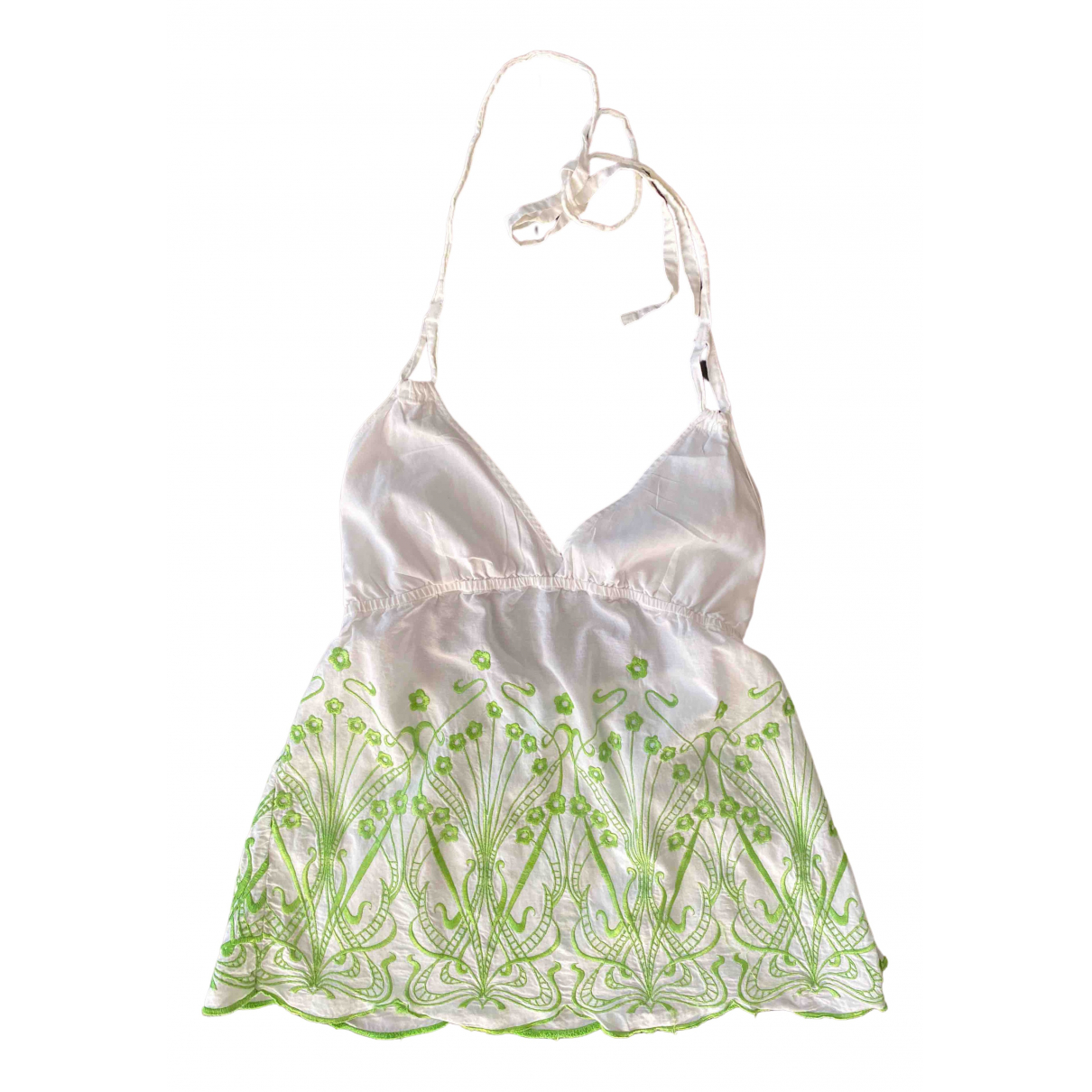 Liberty Of London - Top   pour femme en coton - vert