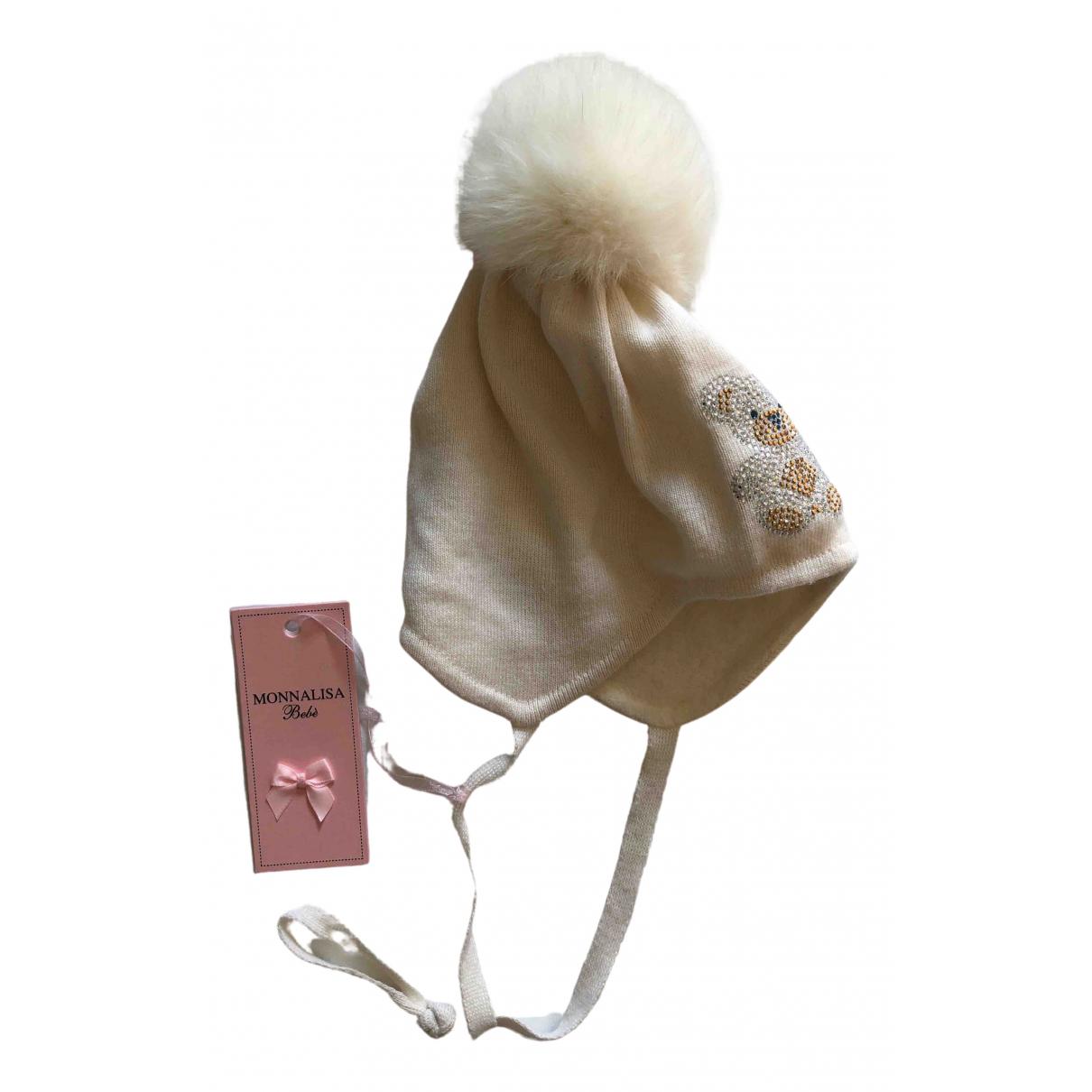Monnalisa \N Hut, Muetzen, Handschuhe in  Weiss Wolle