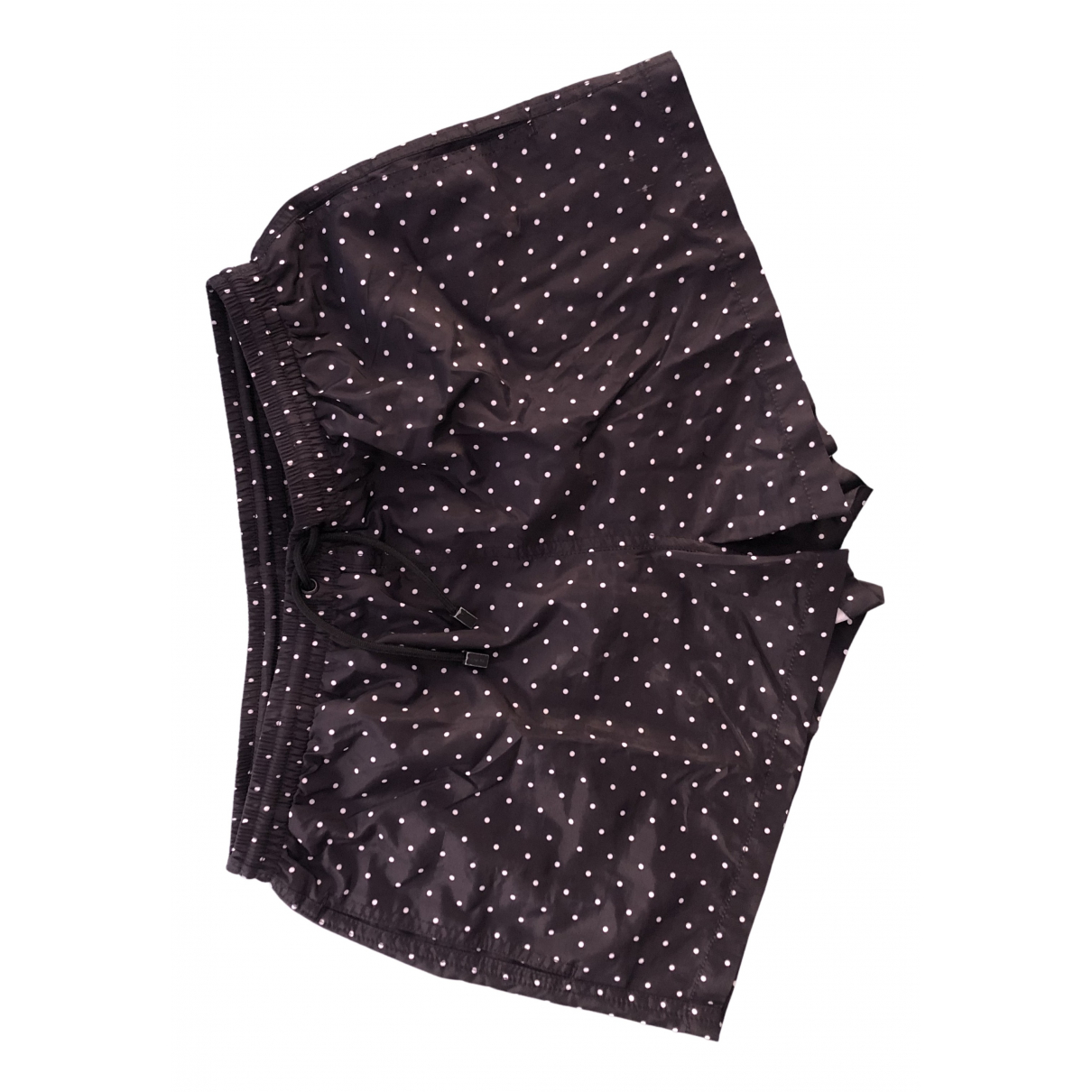Zara \N Badeanzug in  Schwarz Polyester