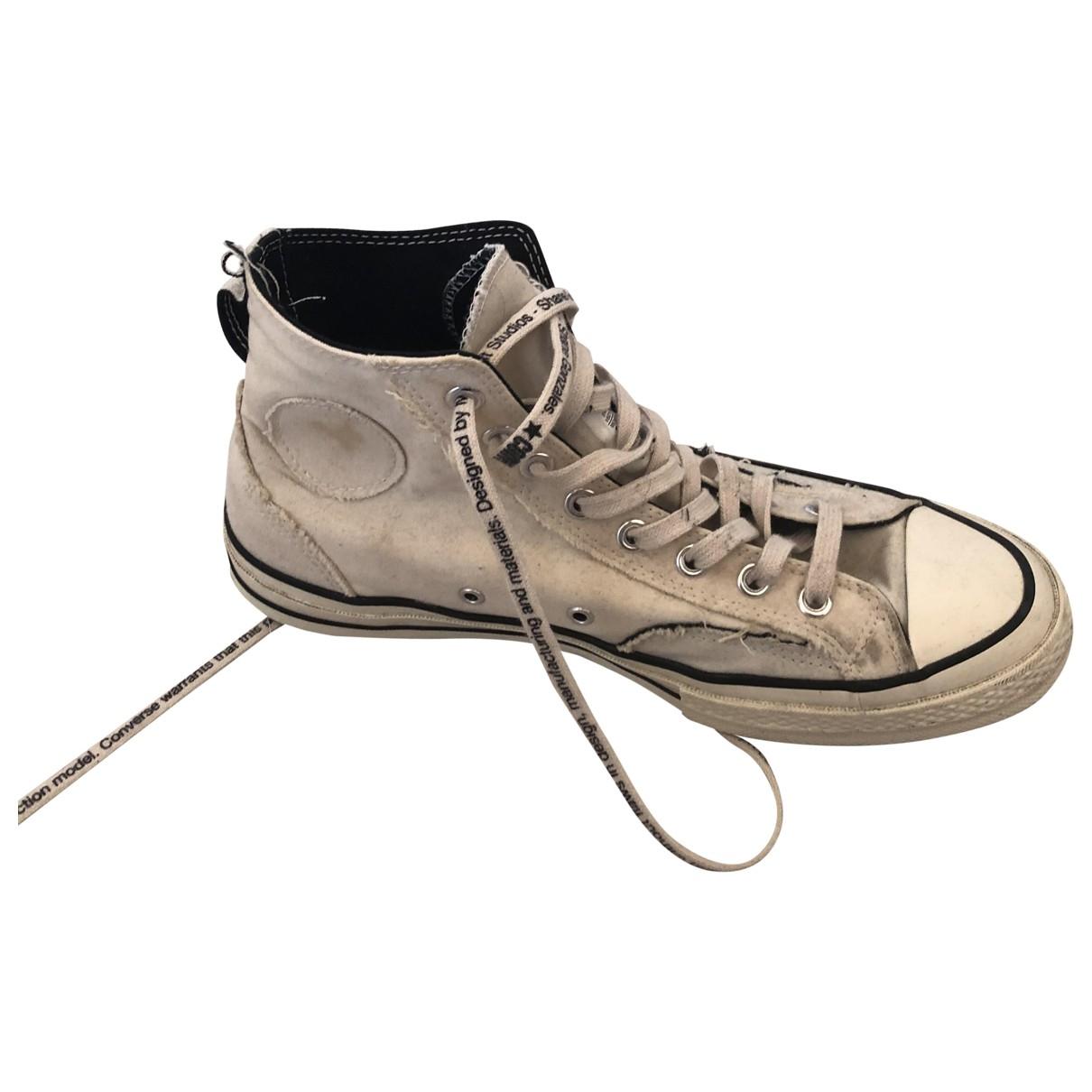 Converse \N Sneakers in  Beige Polyester