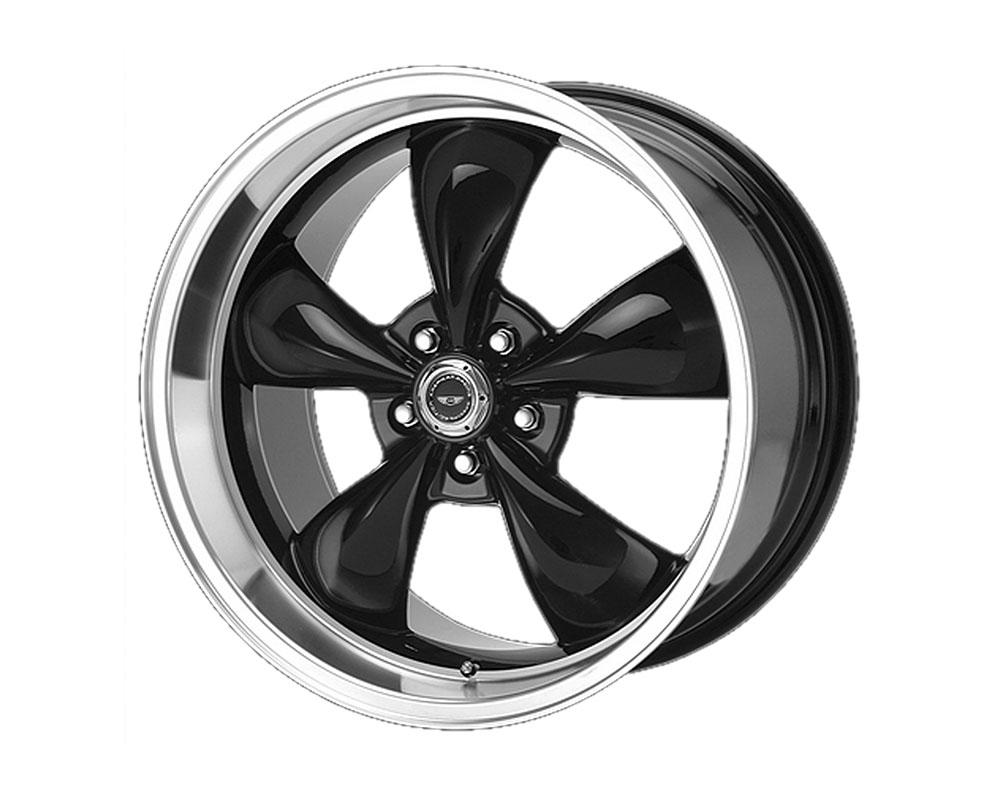 American Racing AR105 Torq Thrust M Wheel 18x8 5x5x120.65 +0mm Gloss Black Machined Lip