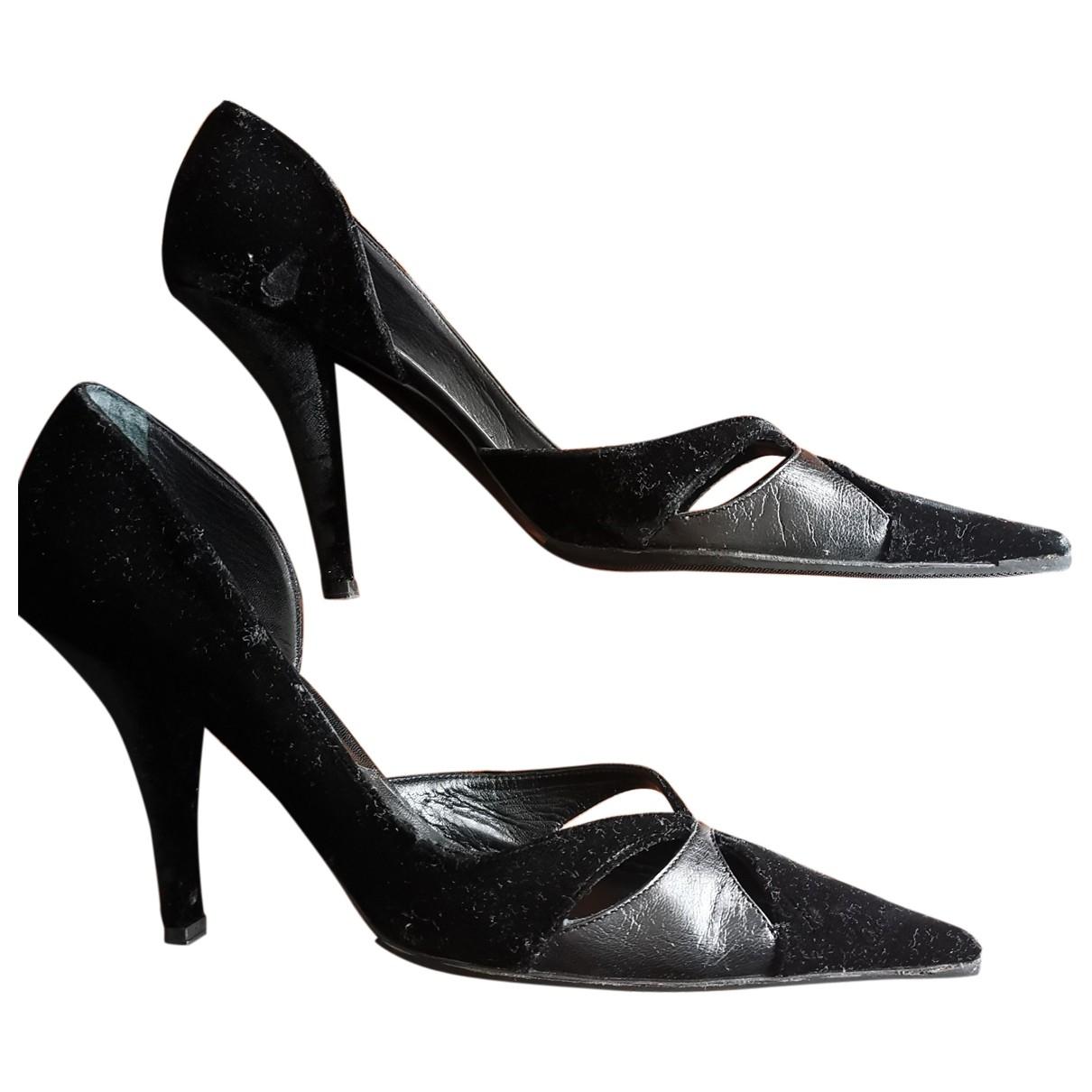Dior - Escarpins   pour femme en velours - noir