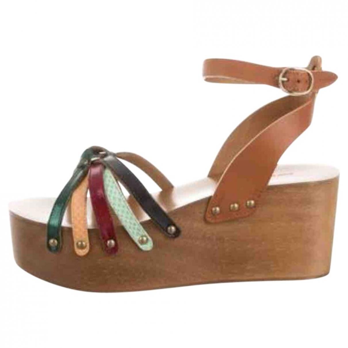 Isabel Marant \N Multicolour Leather Sandals for Women 39 EU
