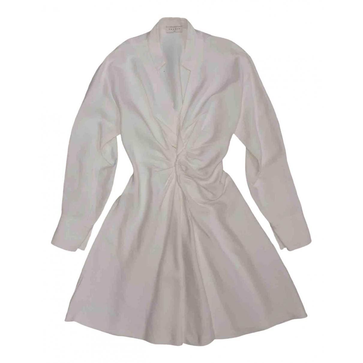 Sandro \N White dress for Women 34 FR