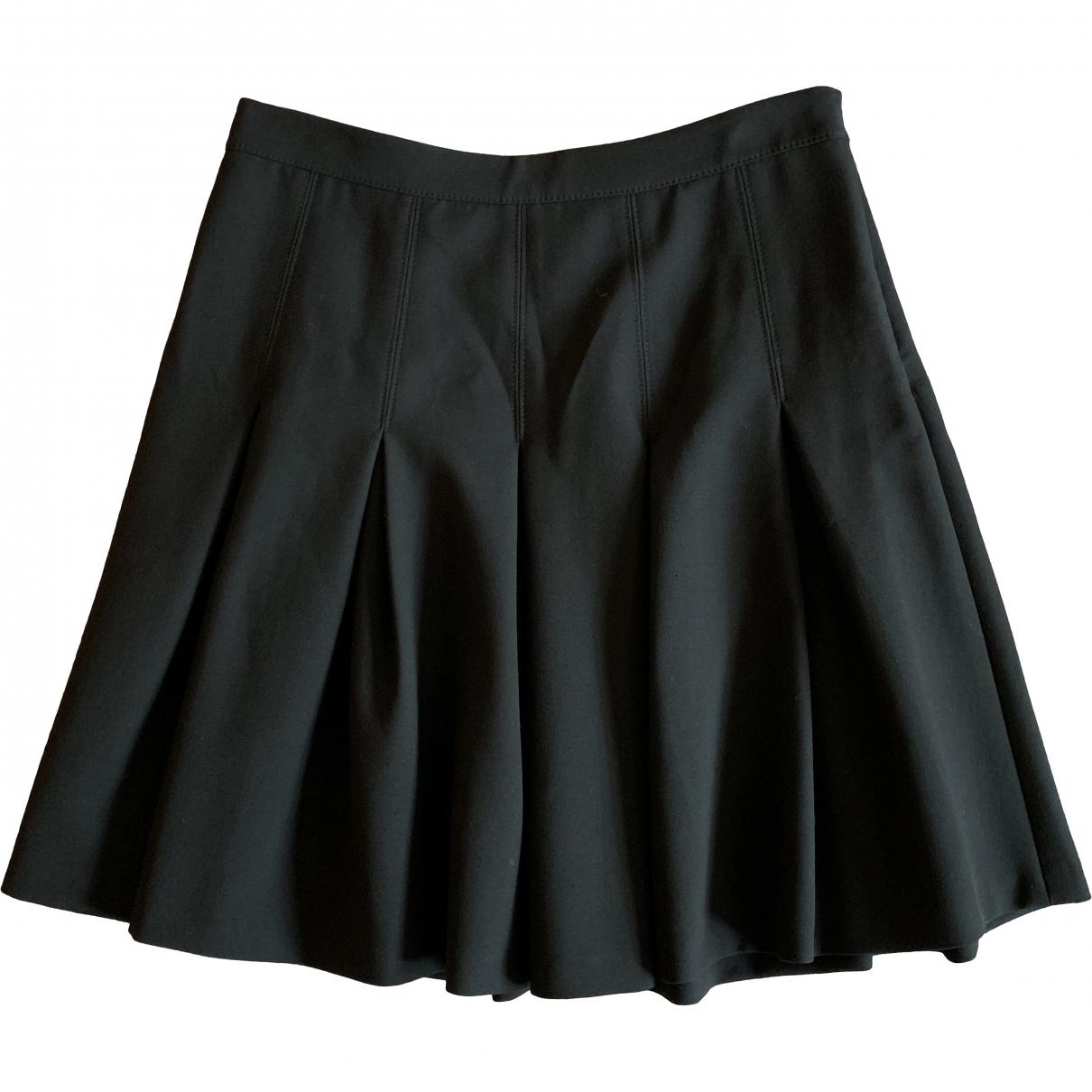 Diane Von Furstenberg \N Black Wool skirt for Women S International