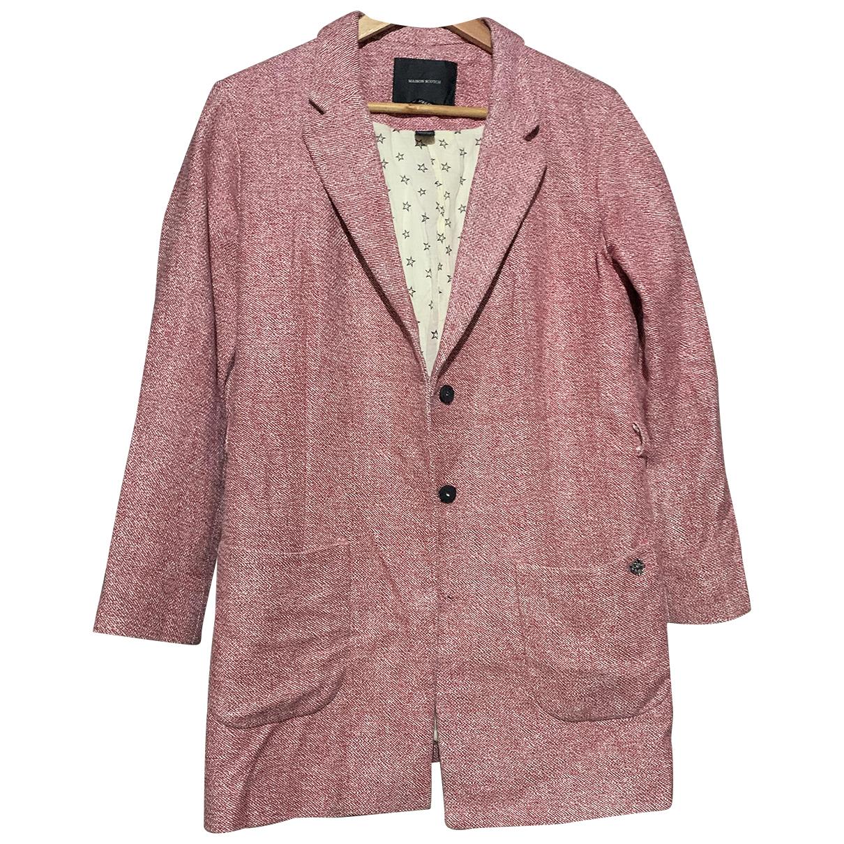 Maison Scotch - Veste   pour femme en coton - rose
