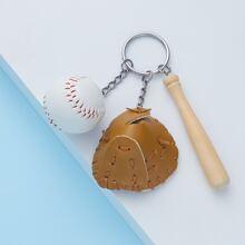 Llavero con beisbol
