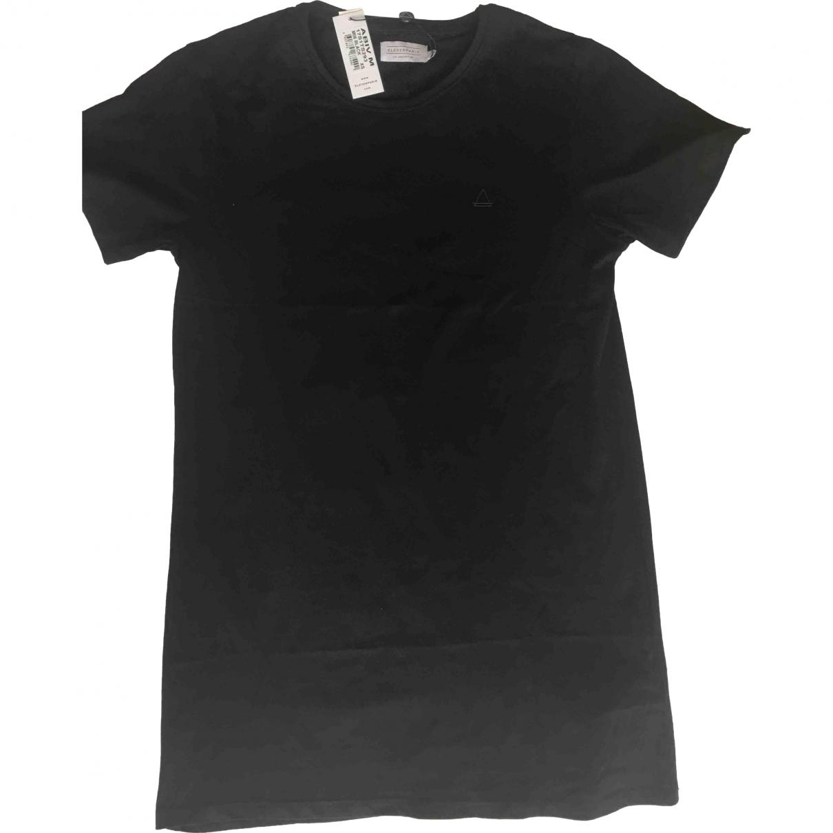 Eleven Paris - Tee shirts   pour homme en coton - noir