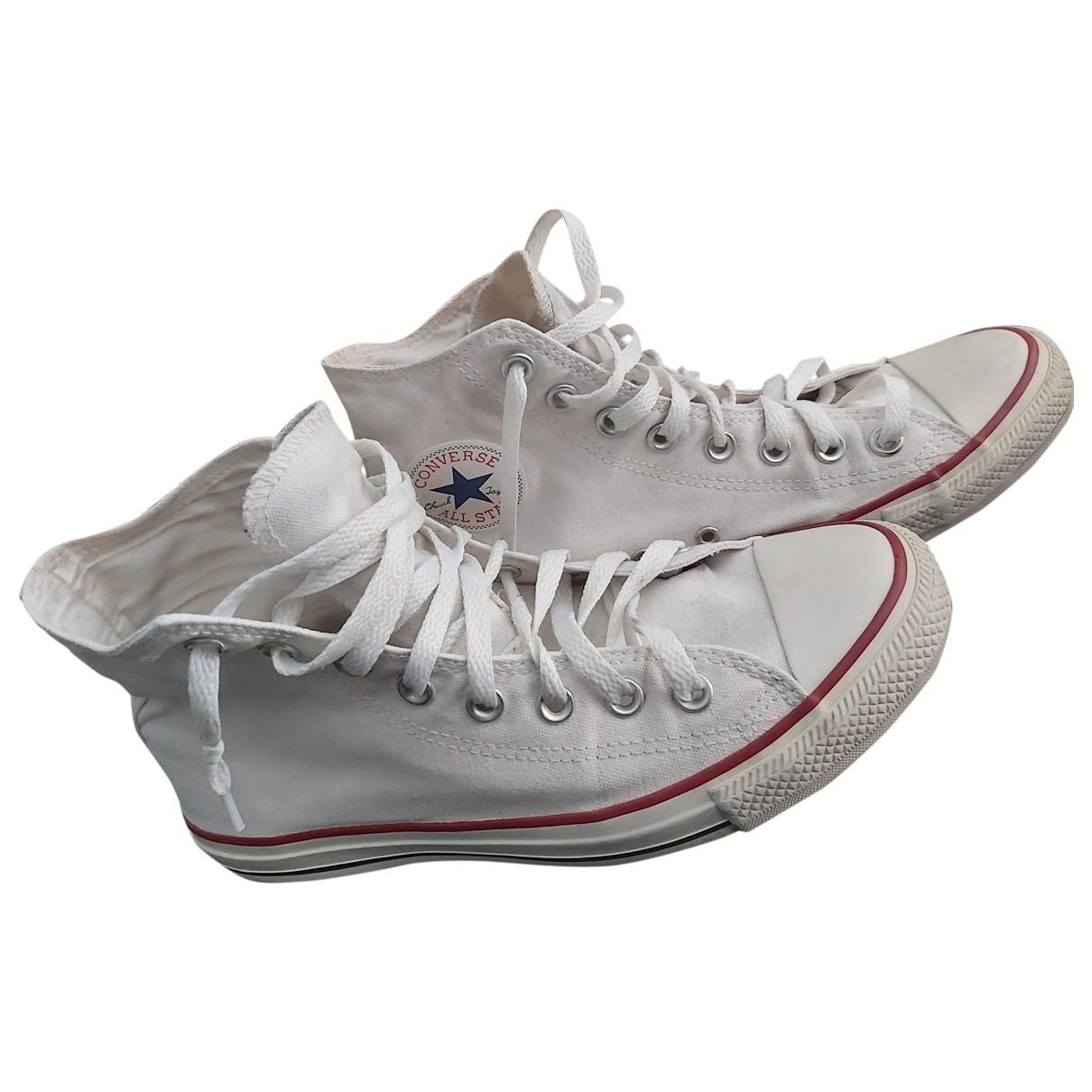 Converse - Baskets   pour homme en toile - blanc