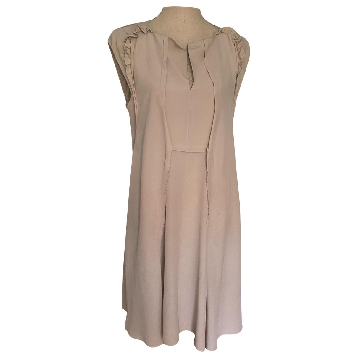 Vestido de Seda Marni