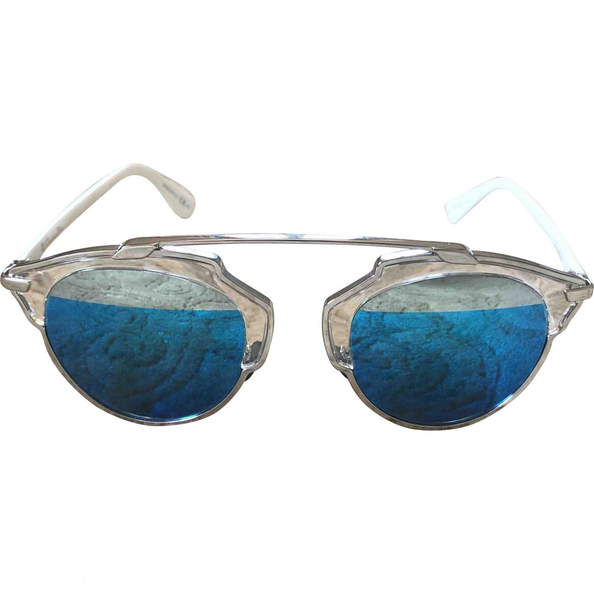 Dior So Real  Metallic Metal Sunglasses for Women \N