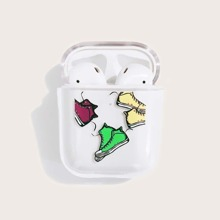 Graphic Clear Airpods Case