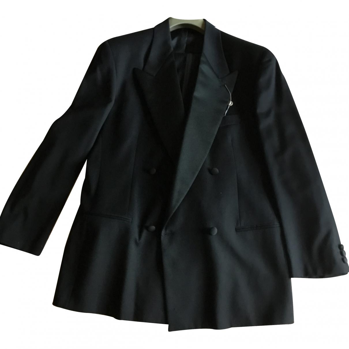 Emporio Armani - Costumes   pour homme en laine - noir