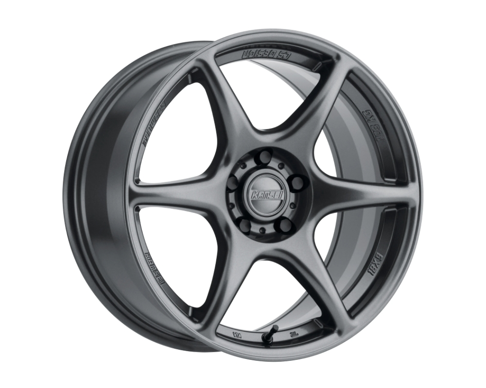 Kansei Tandem Wheel 18x9 5x114.3 35mm Gloss Gunmetal