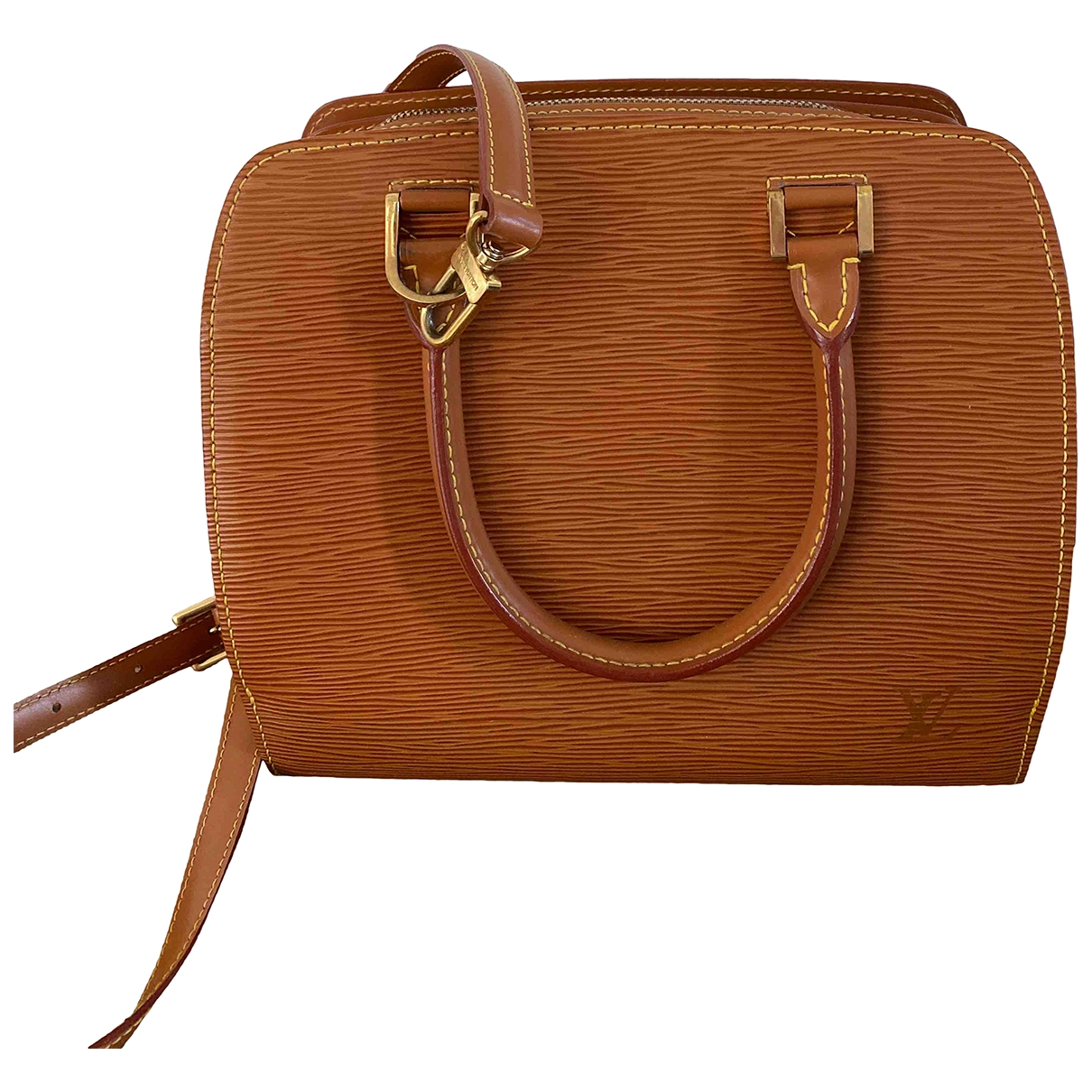Louis Vuitton Sorbonne Vintage Handtasche in  Braun Leder