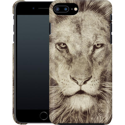 Apple iPhone 7 Plus Smartphone Huelle - Leo Lion von Eric Fan