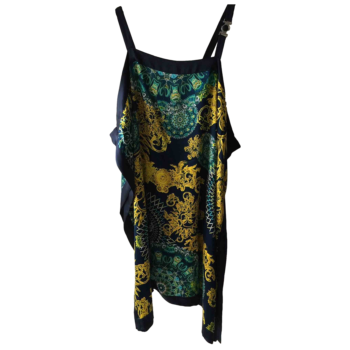 Versace \N Multicolour Silk dress for Women 46 IT