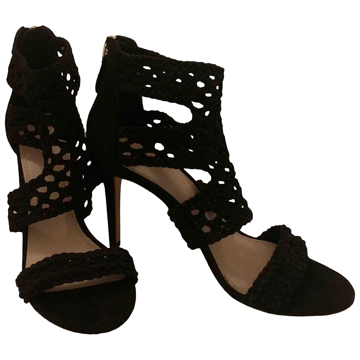 Sandro \N Black Leather Sandals for Women 39 EU