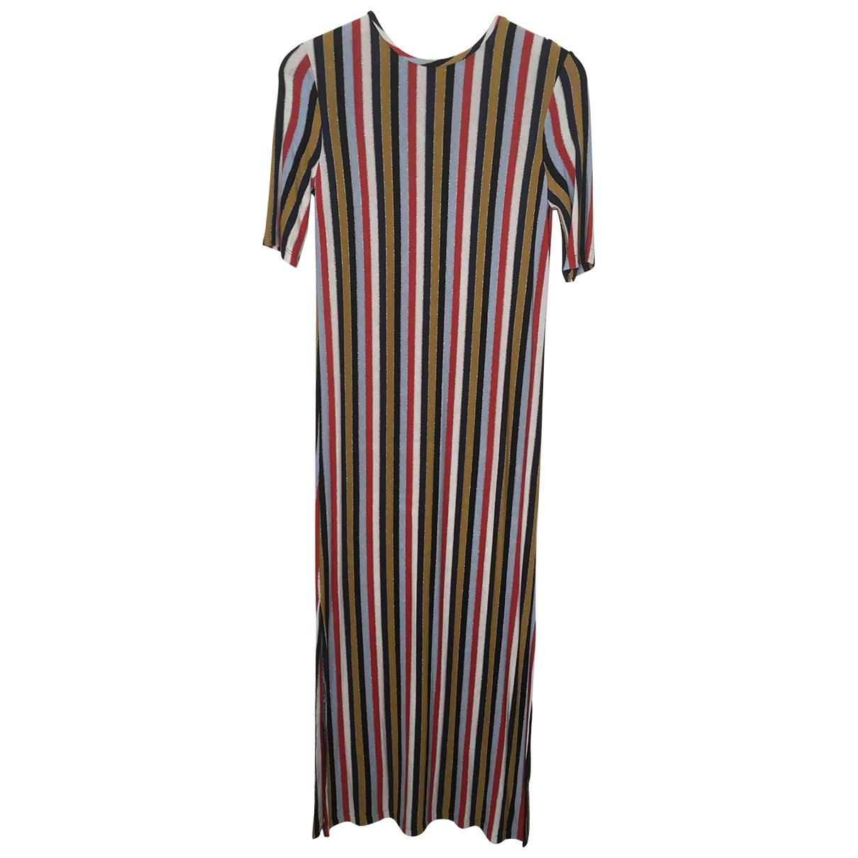 Zara \N Multicolour Cotton - elasthane dress for Women S International