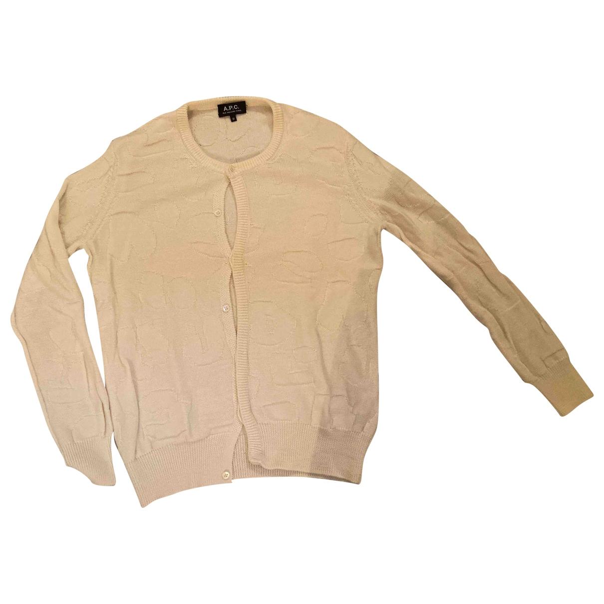 Apc \N White Wool Knitwear for Women 38 FR
