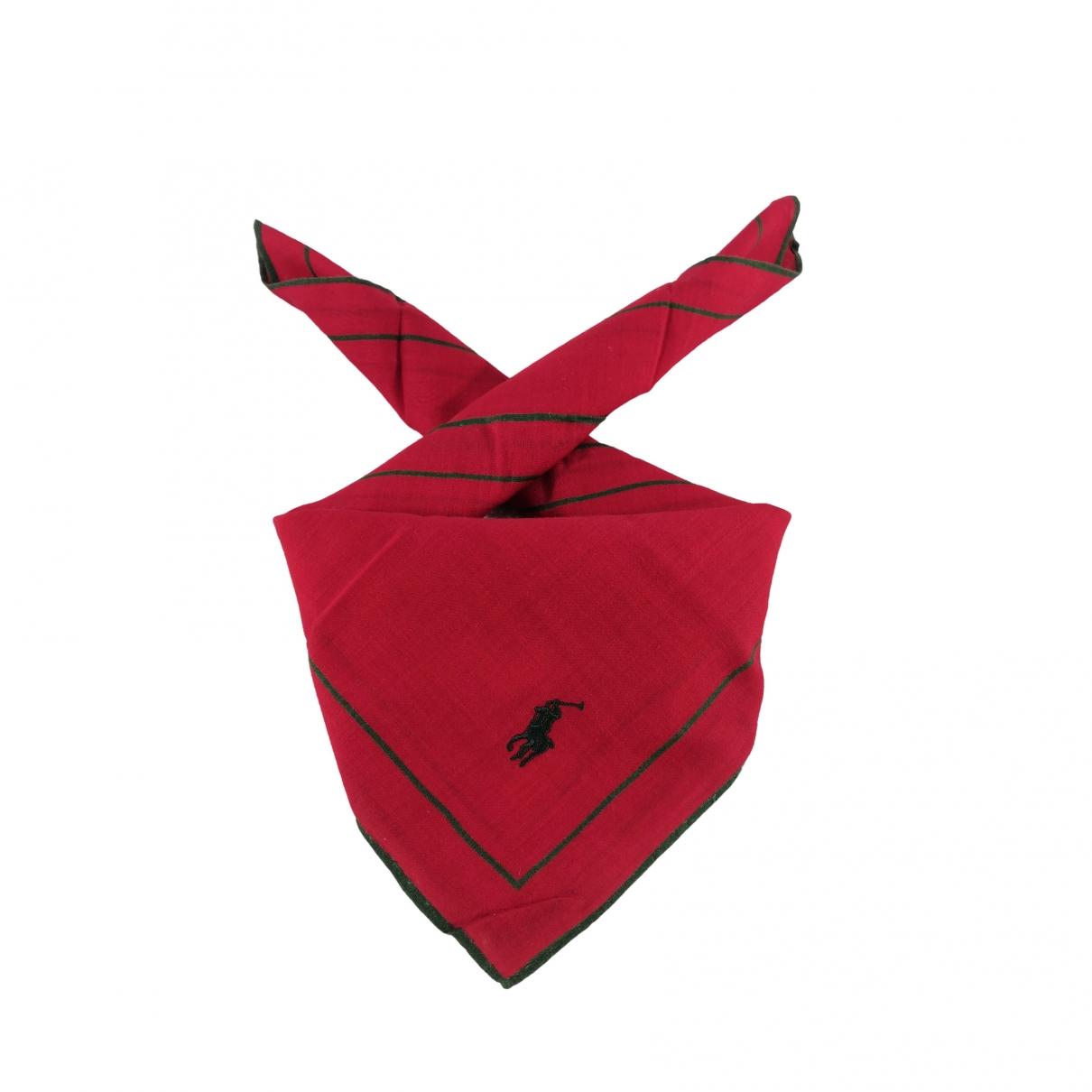 Polo Ralph Lauren \N Tuecher, Schal in  Rot Baumwolle