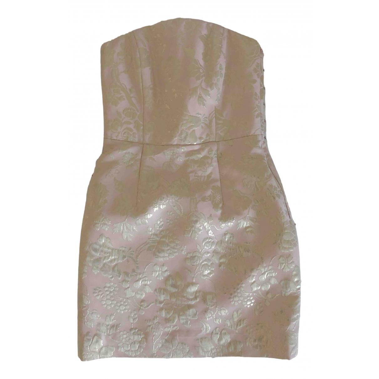 Max & Co \N Kleid in  Gold Viskose