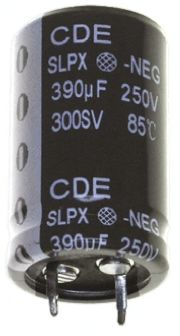 Cornell-Dubilier 15000?F Electrolytic Capacitor 35V dc, Through Hole - SLPX153M035C9P3